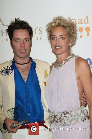 Rufus Wainwright and Sharon Stone