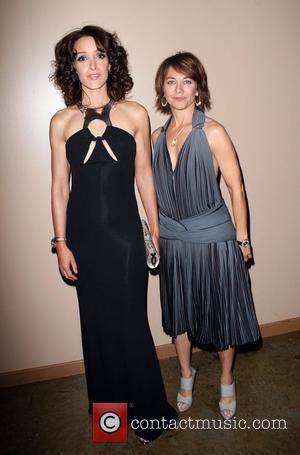 Jennifer Beals and Ilene Chaiken GLAAD Media awards at Kodak theatre - Pre- show Hollywood, California - 26.04.08