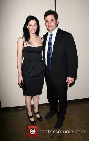 Sarah Silverman and Jimmy Kimmel