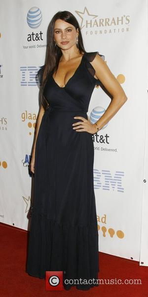 Sofia Vergara 19th Annual GLADD Media Awards - Arrivals  Held at the Kodak Theatre Hollywood, California USA - 26.04.08