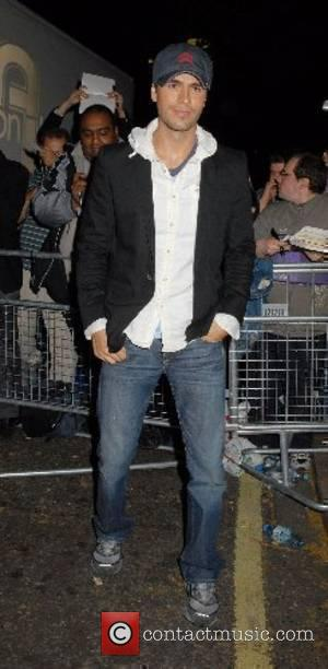 Enrique Iglesias Glamour Women Of The Year Awards held at Berkeley Square Gardens - Arrivals London, England - 05.06.07