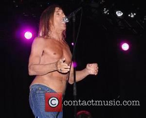 Iggy Pop and The Stooges performing at the 2007 Glastonbury Festival at Worthy Farm, Pilton - day 2 Somerset, England...