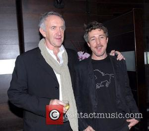 Jonathan Pryce and Aidan Gillen Opening night of Glengarry Glen Ross at the Apollo Theatre and the after party celebration...