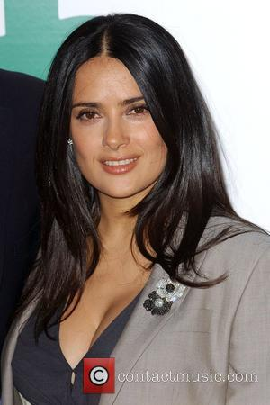 salma hayek. Salma Hayek Global Green USA#39;s
