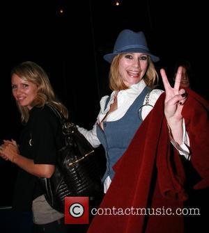 Meredith Monroe leaving Goa nightclub with a friend Hollywood, California - 03.01.07