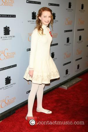 Dakota Blue Richards at the New York premiere of 'The Golden Compass' at the Ziegfeld Theater -- Arrivals New York...