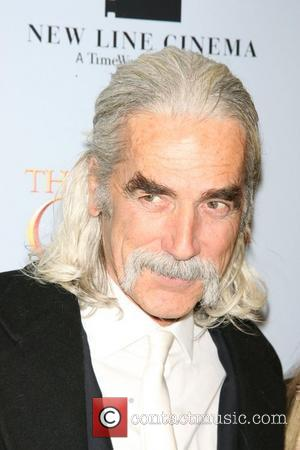 Sam Elliott at the New York premiere of 'The Golden Compass' at the Ziegfeld Theater -- Arrivals New York City,...