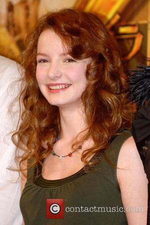 Dakota Blue Richards The cast of 'The Golden Compass' at a photocall to promote the movie Tokyo, Japan - 20.02.08