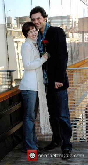 Jill Paice and Darius Danesh Gone With The Wind - Photocall Darius Danesh and Jill Paice begin rehearsals as Rhett...