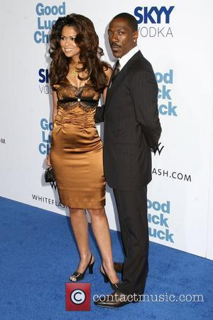 Tracey E. Edmonds and Eddie Murphy 'Good Luck Chuck' premiere held at Mann National Theater - arrivals Los Angeles, California - 19.09.07