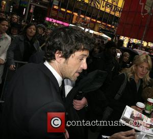 Patrick Dempsey arriving at 'Good Morning America' studios, signing autographs for fans New York City, USA - 20.11.07