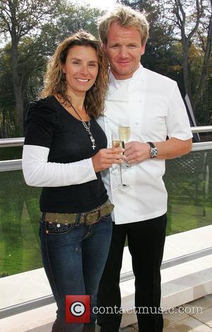 Tana Ramsay and Gordon Ramsay Gordon Ramsay opens his new restaurant 'Gordon Ramsay at Powerscourt' Wicklow, Ireland - 23.10.07