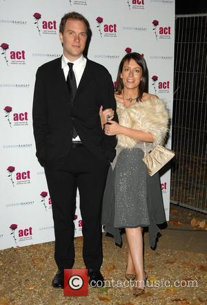 Faye Ripley with husband Daniel Gordon and Tana Ramsay's special dinner held on Berkeley Square London, England - 20.09.07
