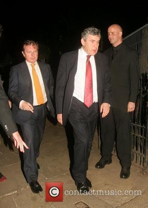 Gordon Brown Gordon & Tana Ramsay's Special Charity Dinner at Berkeley Square London, England - 20.09.07