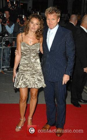 Gordon Ramsay and guest GQ Awards  at the Royal Opera House London, England - 04.09.07