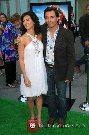 Andrew Shue and wife Jennifer Hageney 'Gracie' premiere at the ArcLight Theaters Hollywood, California - 23.05.07