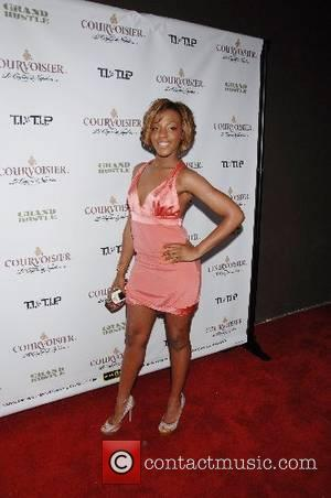 Dawn Richard Grand Hustle and Courvoisier celebrate the release of  T.I. vs T.I.P. at the house of Courvoisier held...