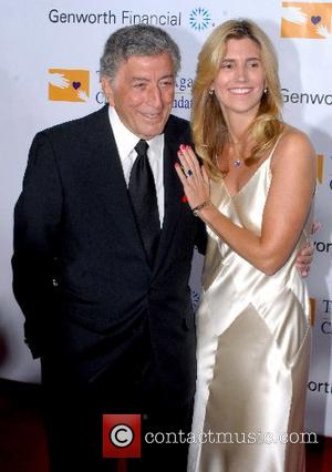 Tony Bennett and guest Andre Agassi Grand Slam for Children benefit  at the MGM Grand Las Vegas, Nevada -...