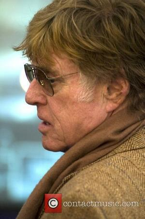 Robert Redford at the World Mobile Congress, held in Barcelona promoting the Sundance Channel, marketing short films and other media...