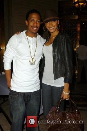 Nick Cannon and guest Mercedes-Benz Fashion Week New York Spring 2008 at Gotham Hall - G-Star - Inside New York...