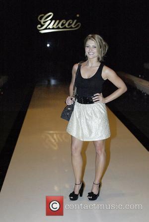 Natalie Bassingthwaighte Gucci Spring/Summer 2008 Collection Sydney, Australia - 19.03.08