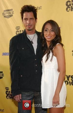Chris Cornell and Vicky Karayi First Annual Spike TV's