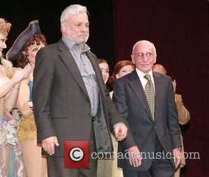 Stephen Sondheim and Arthur Laurents