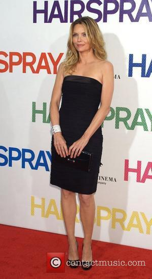 Michelle Pfeiffer  New York premiere of 'Hairspray' held at the Ziegfeld theatre - Arrivals New York City, USA -...