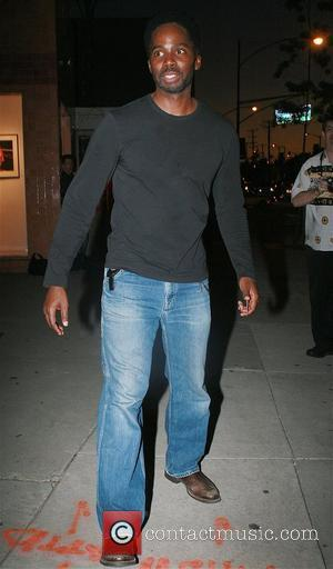 Lost actor Harold Perrineau visits Hamilton-Selway Fine Art Gallery Los Angeles, California - 13.03.08