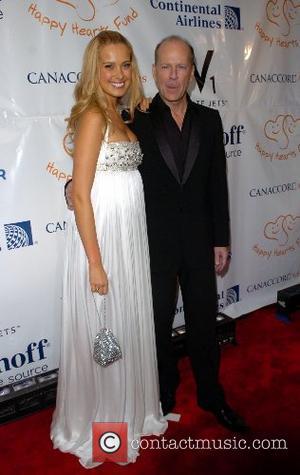 Petra Nemcova and Bruce Willis