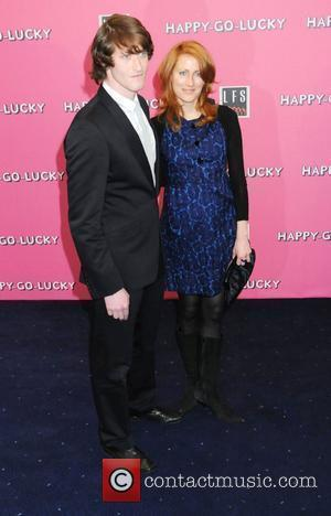 Samuel Roukin and Guest UK premiere of 'Happy-Go-Lucky' held at the Odeon Camden - Arrivals London, England - 14.04.08
