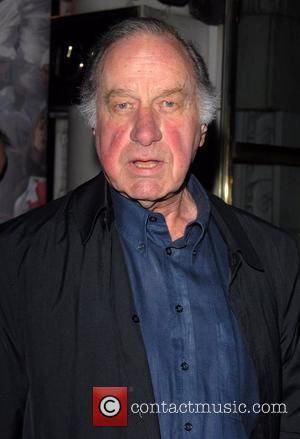 Geoffrey Palmer The Chicken Shed theatre company perform at The Hard Rock Cafe - Arrivals  London, England - 04.02.08