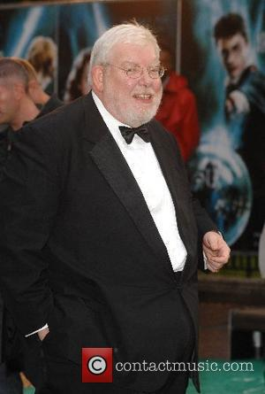 Richard Griffiths UK Premiere of 'Harry Potter and the Order of the Phoenix' held at the Odeon Leicester Square London,...