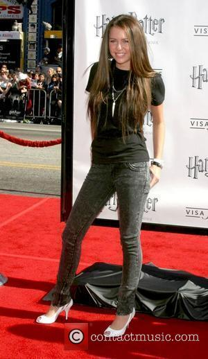 Miley Cyrus The U.S premiere of 'Harry Potter And The Order Of The Phoenix' at the Grauman's Chinese Theatre Hollywood,...