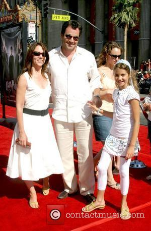 Jon Tenney and daughter Emmerson Tenney and guest The U.S premiere of 'Harry Potter And The Order Of The Phoenix'...