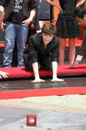 Daniel Radcliffe Harry Potter handprint, footprint, and wand ceremony held at the Grauman's Chinese Theatre Hollywood, California - 09.07.07