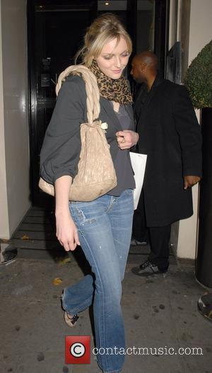 Sophie Dahl leaving Harvey Nichols after the Lisa Hoffman Bath And Shower Range launch party London, England - 23.10.07