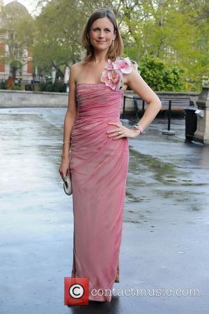 Katie Derham Breast Cancer Haven's Blush Ball at the Natural History Museum London, England - 01.05.08