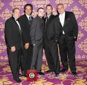 Cast of The Sopranos HBO's Post Award Reception following the 59th Annual Primetime Emmy Awards at the Pacific Design Center...