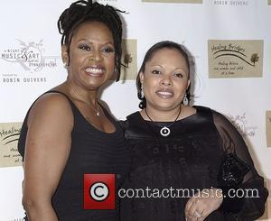Robin Quivers and Justine Simmons Robin Quivers and The Girls Night Out committee benefit for 'Healing Bridges' in aid of...