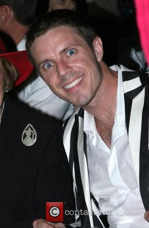 Jake Shears of Scissor Sisters Mercedes-Benz Fashion Week New York Spring 2008 at Gotham Hall - Heatherette - Inside New...