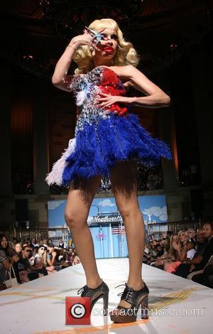 Amanda Lepore Mercedes-Benz Fashion Week New York Spring 2008 at Gotham Hall - Heatherette - Runway New York City, USA...