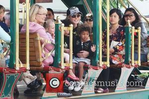 Heidi Klum, Family At The Grove and West Hollywood