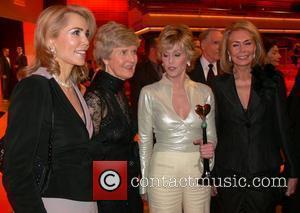 Gabrielle and Jane Fonda