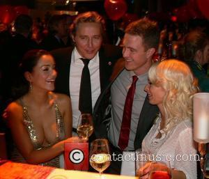Verona Pooth, Franjo Pooth, Ralf Schumacher, Cora Schumacher Aftershow-party for the Ein Herz fuer Kinder gala held at the Axel-Springer-Haus...