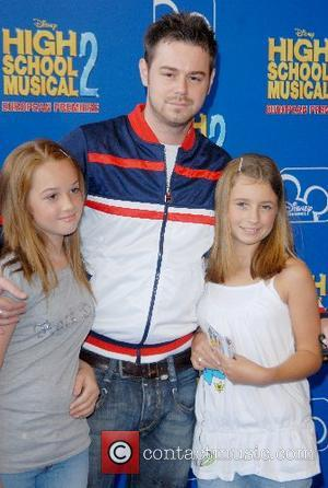 Danny Dyer and family High School Musical 2 - premiere Vue Cinema, The O², Peninsula Square London, England - 02.09.07