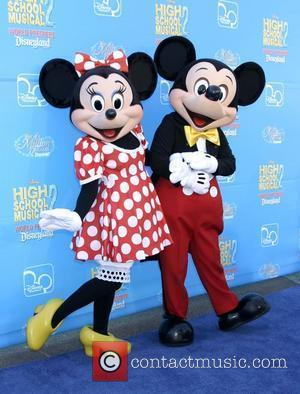 Mickey Mouse Merchandising Vehicle Revs Up
