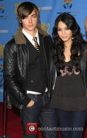 Zac Efron and Vanessa Hudgens