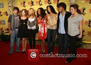 Olesya Rulin, Ashley Tisdale, Corbin Bleu, Teri Hatcher and guests Gala of Disney's High School Musical: The Ice Tour -...