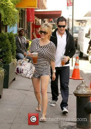 Hilary Duff and Her Boyfriend Mike Comrie